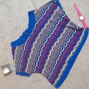 Xl Neon Knitted Top